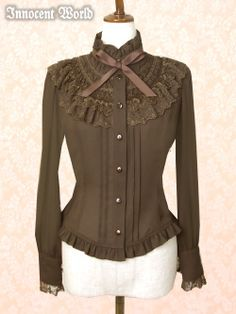 Innocent World Isabel Blouse in Brown