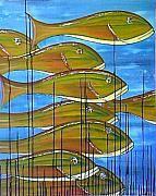 Anton Alberts Art studio and Canvas Factory - Art Framed Prints, Canvas Prints, Swim, Tapestry, Fish, Gallery, Artist, Artwork, Hanging Tapestry