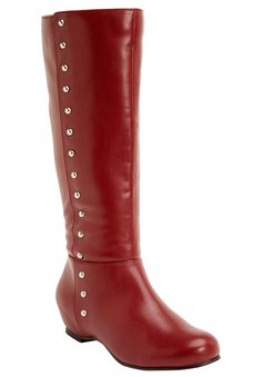 Plus Size Kylie Wide Calf Boot