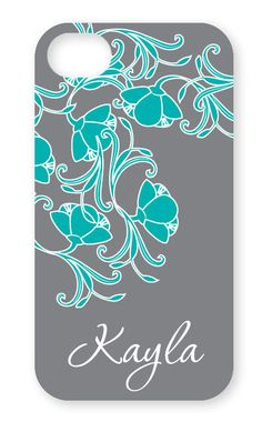 Personalized iPhone Case in Lotus