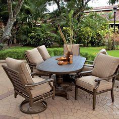 Artistry Outdoor Living Castelle Furniture Dining Garden Family Brand