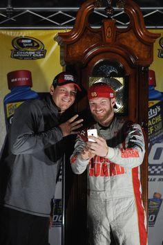 Dale Earnhardt Jr., and Steve Letarte, Martinsville Speedway