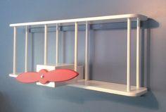 DIY Childrens Airplane Bookshelf.. Uncle Jim needs to make this for Elliott