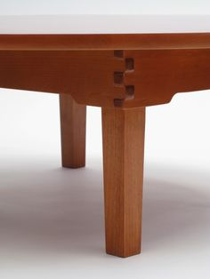 Anese Chabudai A Low Folding Table Wood Joints Tables Woodworking
