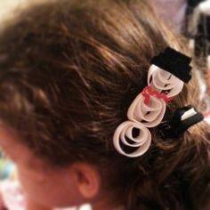 #HairBow #SnowMan #Christmas