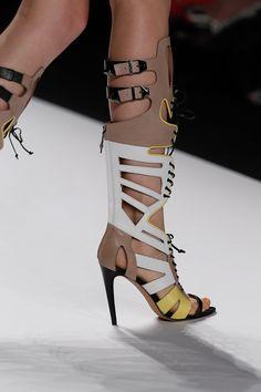 Rebecca Minkoff Runway gladiator heels