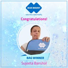CONGRATULATIONS to our winner Sujata Bansod who received her Laptop Bag prize on Friday. Who wants be next?  :) And don't forget to share our page! #SabsePureSabseHealthy