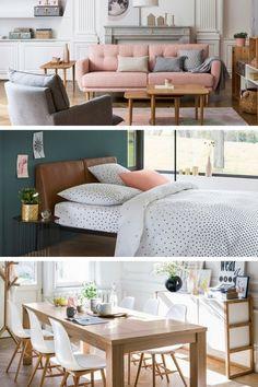 La Redoute Intérieurs & AMPM : une alternative IKEA pour un excellent rapport qualité / prix sur le mobilier et la décoration Decor, Furniture, Home Organization, Interior, Interrior Design, Deco, Ikea, Home Decor, Home Deco