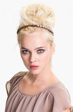 Cara Accessories 'Such a Pretty' Headband available at #Nordstrom http://girlyinspiration.com/