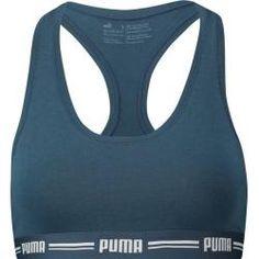 PUMA Damen Sport BH WT Hot In Here Crop #Unterwäsche