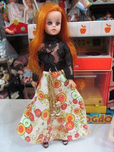 Boneca Susi Da Estrela - Susi Ruiva - Anos 70 - Super Linda - R$ 599,99 no MercadoLivre