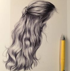 Esra Røise illustrator hair