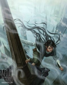 kmcmorris:  I recently became a huge fan of the book Mistborn! You can read about the process behind this illustration at my blog.