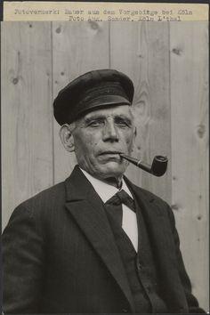 Farmer from the Vorgebirge near Cologne (Bauer aus dem Vorgebirge bei Köln).; August Sander, about 1931