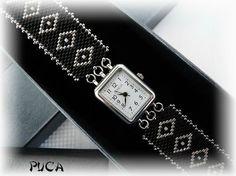 Alors la voici ... Un joli bracelet pour cette montre ... Un fermoir de chez