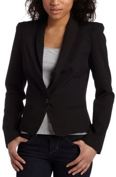 $44.91 Necessary Objects Junior's Strong Shoulder Jacket size: small