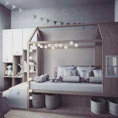 60 affordable kids bedroom design ideas that suitable for kids 16 Big Girl Rooms, Boy Room, Baby Bedroom, Girls Bedroom, Kid Bedrooms, 70s Bedroom, Childrens Bedroom, Minimalist Room, Toddler Rooms