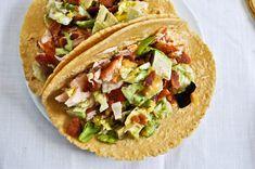blt salmon tacos