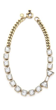 Marc by Marc Jacobs ID Jewels Bow Necklace