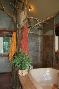 Would love this shower in my house - what a unique idea!!
