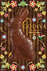 Godiva Solid Milk Chocolate Easter Bunny $19.99