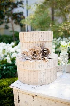 In need of music decor ideas for non-church ceremony - Weddingbee-Boards Wedding Music, Wedding Blog, Diy Wedding, Dream Wedding, Wedding Photos, Wedding Ideas, Music Cover Photos, Gift Card Boxes, Church Ceremony