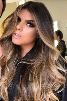 Brunette Color, Balayage Brunette, Ombre Hair Color, Hair Color Balayage, Cool Hair Color, Tiger Eye Hair Color, Brown Balayage, Pelo Color Caramelo, Brown Blonde Hair