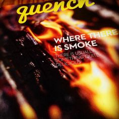 Where there's smoke... There's a #smokedmeat museum (at least in Spain). Read about it and more -like #kitchen #lifehacks - in the September issue of Quench North America's #food and #drink #magazine. #wine #winelover #foodie #foodporn #cover #recipeideas #reading