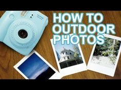 How To Take Fujifilm Instax Mini Photos Outdoors Instax Mini Ideas, Instax Mini 8, Fujifilm Instax Mini, Polaroid Instax, Polaroid Film, Outdoor Photography, Photography Tips, Mini Photo, Outdoor Photos