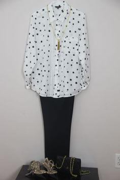 Professional long sleeve look for a summer day - anamika.ca