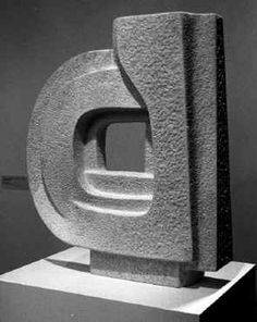Formation (1983) - Mona Saudi  #sculpture #ArabArtists Stone Sculptures, Barbara Hepworth, Stone Art, Inspiration, Museums, Abstract, Sculptures, Artists, Art