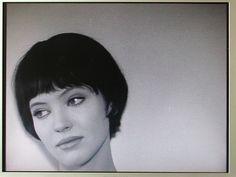 Hairstyle Anna Karina