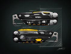 Flotspotting: Leatherman Industrial Designer Kenny Lohr's Multi-Tool Renderings - Core77