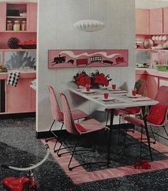 Love mid century style and colors