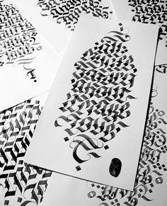 All my life ♪ #tusk #calligraphy