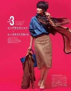 #Domani_16\03_060#オトナ女子必見!この春一番のおしゃれスタイリング5選 - Woman Insight | 雑誌の枠を超えたモデル・ファッション情報発信サイト