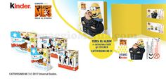 Album Cattivissimo Me 3 omaggio con Kinder - http://www.omaggiomania.com/omaggi-con-acquisto/album-cattivissimo-me-3-omaggio-kinder/