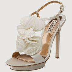 Fabulosos Zapatos de novias para el día mas importante de tu vida
