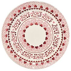 We can't help thinking that you'll want to eat your cake quickly in order to reveal our beautiful Sampler pattern in all its glory! #Love #Valentine's