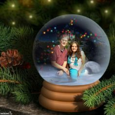 Pretty Lil Snow Globe~