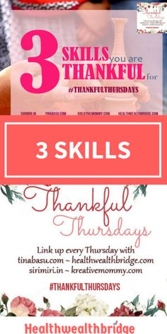 The best part of #ThankfulThursdays is counting blessings.Its almost like counting your stash of chocolates.But better! When you eat apiece of  chocolate you feel good, then worried and then want to have one more.The guilt attack of binging leaves you tired.But Thankfulness?It's wonderful.More you practice the better you feel and it becomes second nature.This doesn't …