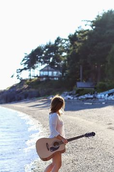 Beach and guitar.. sometimes, it's all you need