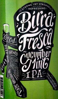 Birra Fresca // The Dieline // Designed by Saint Bernadine, Vancouver