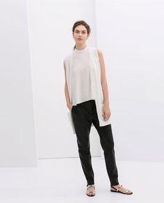 LONG WAISTCOAT from Zara