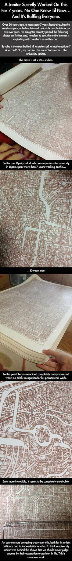 The unsolvable maze…