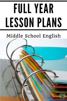 Full year lessons for middle school English Language Arts classes. Use these lesson plans for your English class to reduce your stress and workload. Lessons for reading, writing, media, speaking and listening are included in these plans. English Lesson Plans, Art Lesson Plans, English Lessons, English Projects, Ap English, English Reading, English Online, Learn English, Middle School Reading