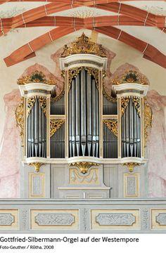 Marienkirche Rötha - Gottfried Silbermann orgel