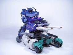 Terminus hexatron tank mode being manned by shockwave