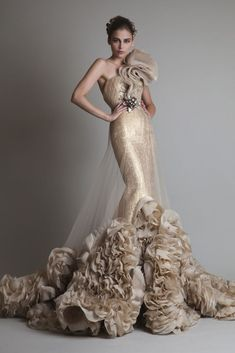 Krikor Jabotian, Fall 2013 ~ Very Extravagant, and Very Beautiful~❥