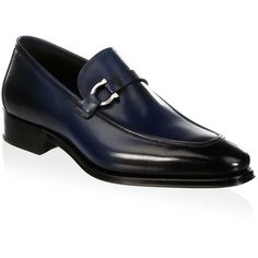 Salvatore Ferragamo Domaso Leather Loafers (4.105 BRL) ❤ liked on Polyvore featuring men's fashion, men's shoes, men's loafers, mens leather loafer shoes, mens woven leather slip-on shoes, mens slip on shoes, mens slip on loafers and mens loafers